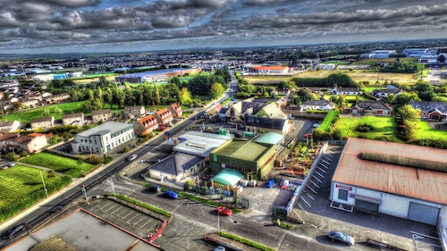 Drone HDR Photography