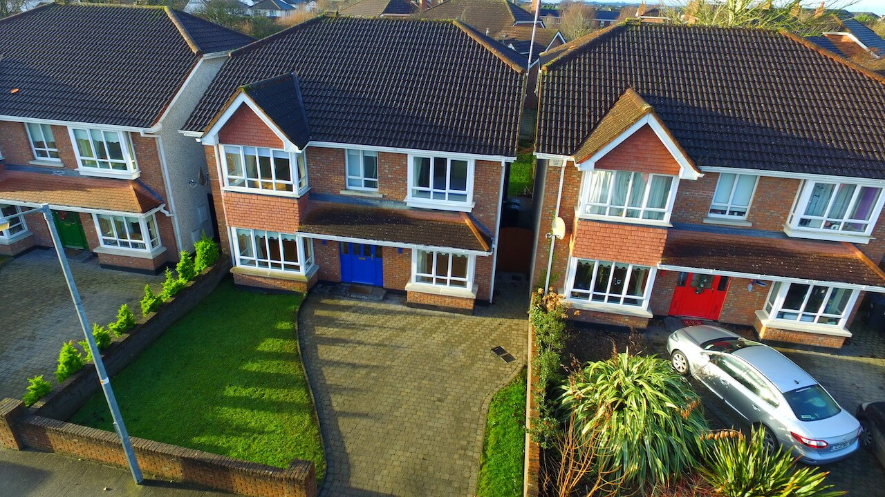 Drone photos for estate agents