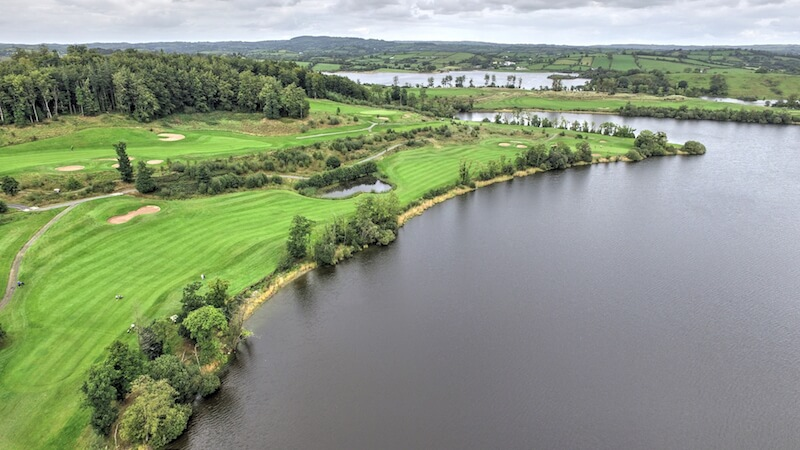 Golf Club Drone Footage