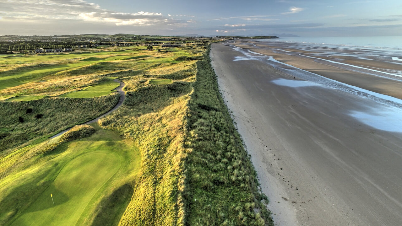 air view marketing drogheda drone photography seapoint golf club