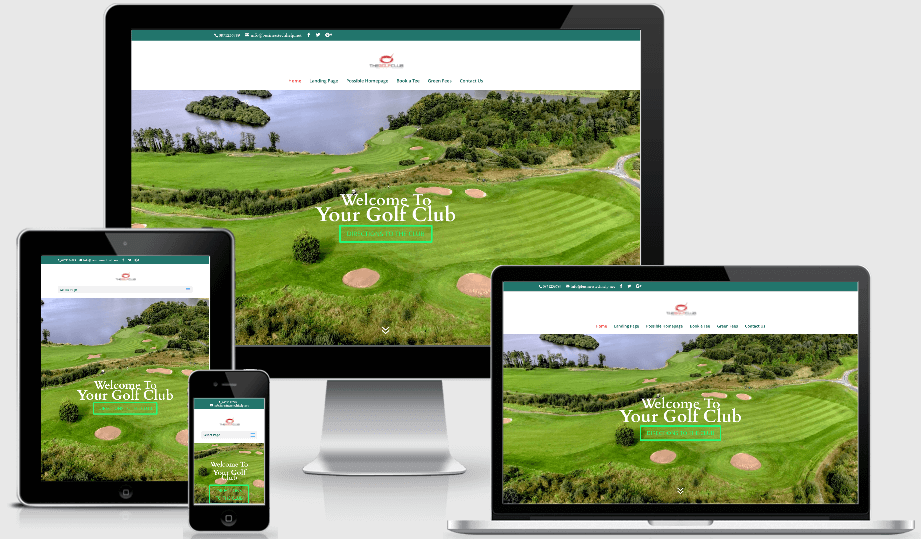 golf club website
